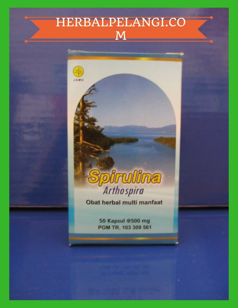 Jual Herbal Spirulina Kapsul Asli Herbal Insani