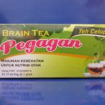 Teh Daun Pegagan Herbal Insani Brain Tea | Nutrisi Otak