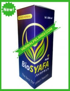 Bio Syafa Plus G-10 | Herbal Infeksi Saluran Kencing