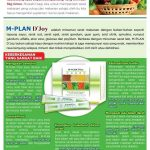 M Plan D Joy Fibertrim | Herbal Pelangsing Alami